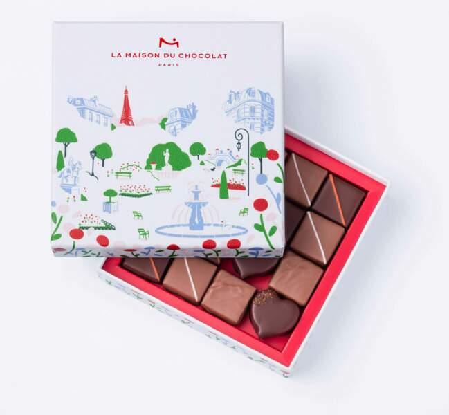 Au cœur des jardins de La maison du chocolat