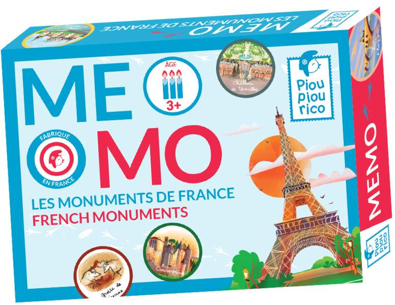 Un jeu de mémoire made in France