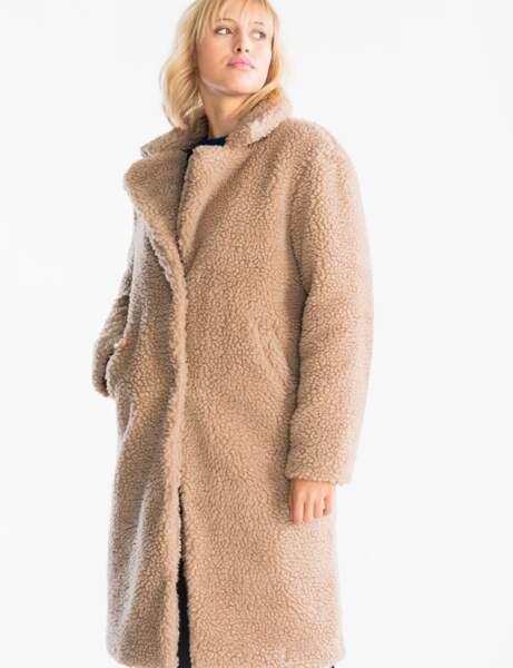 Manteau tendance: fluffy