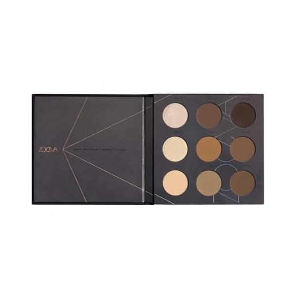 Brow Spectrum - Palette pour Sourcils, Zoeva, prix indicatif : 24 €