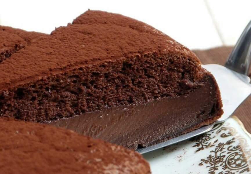 10. Gâteau magique au chocolat
