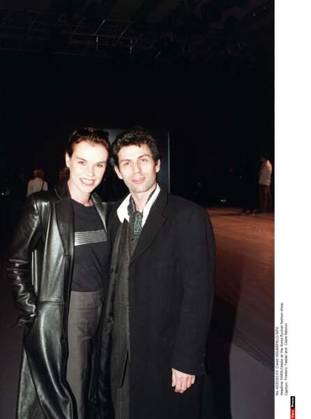 Claire Nebout et Frédéric Taddei...