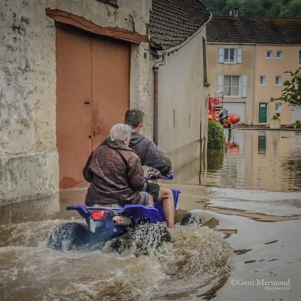 Aulnay-sur-Mauldre, en Ile-de-France : tous les moyens sont bons pour circuler