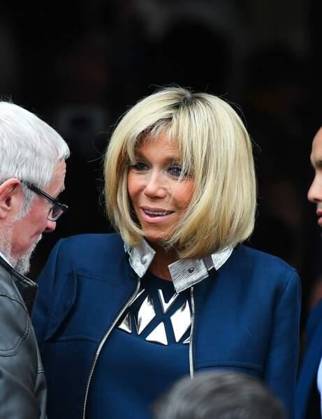 Brigitte Macron : le lissage soigné