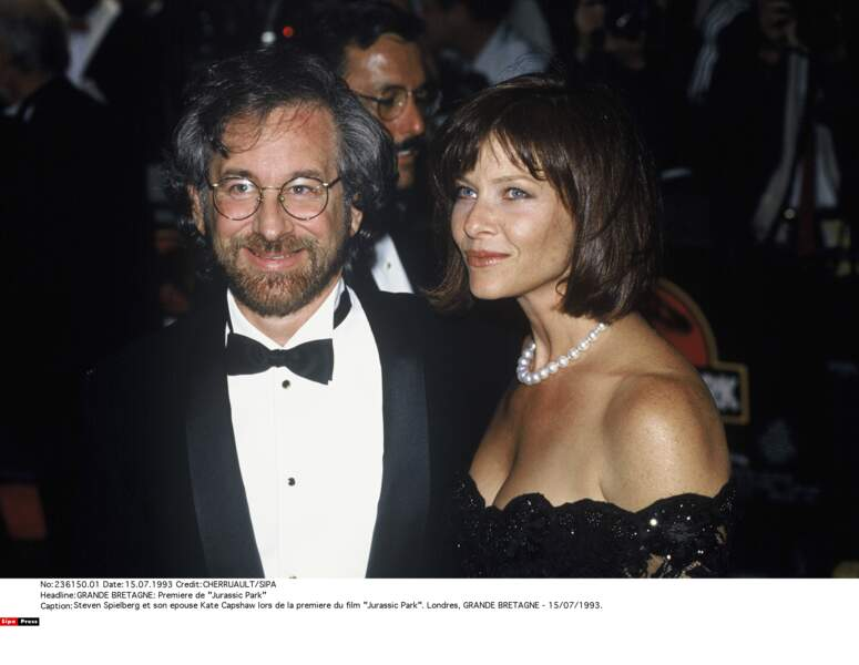 Steven Spielberg et Kate Capshaw...