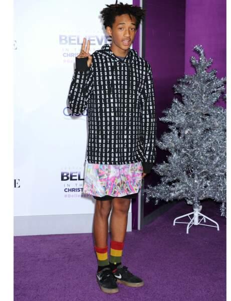 Jaden Smith, le fils de Will Smith assume la jupe au masculin