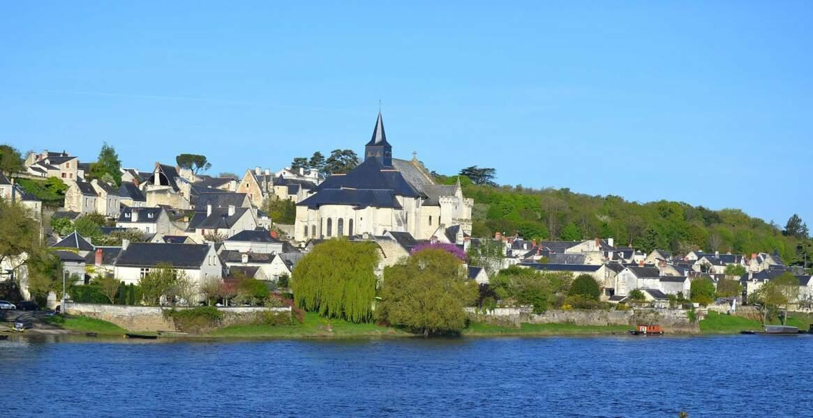 Candes-Saint-Martin, ancien port de pêche d'Indres-et-Loire également classé à l'Unesco