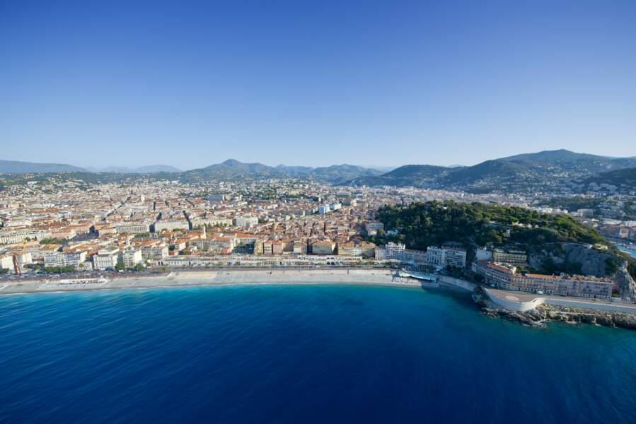 Vue de Nice depuis la mer