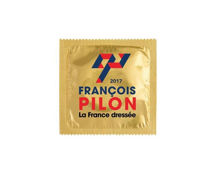 Préservatif spécial Présidentielle : François Pilon La France dressée