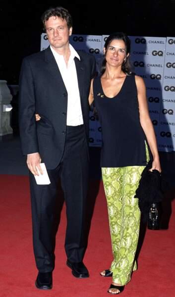Colin Firth et Livia Giuggioli...