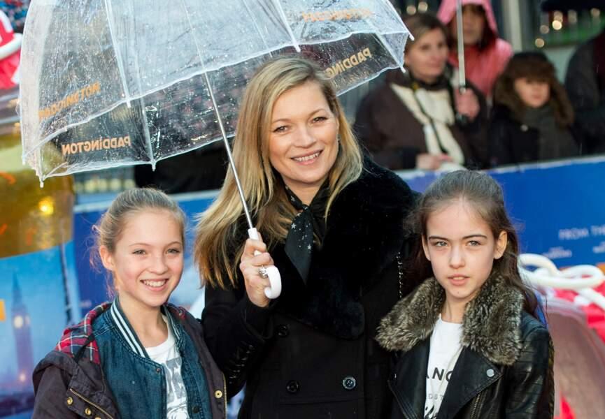 Lila Grace Moss, la fille de Kate Moss et Jefferson Hack