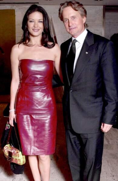Catherine Zeta-Jones et Michael Douglas...