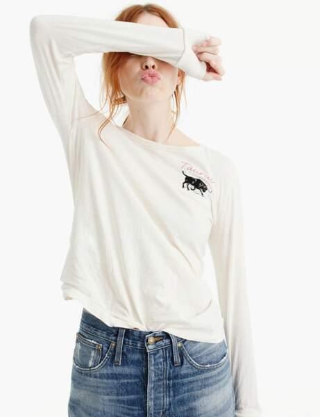 Tee-shirt astro : Taureau