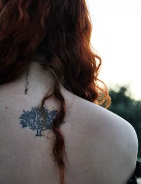 Le tatouage arbre