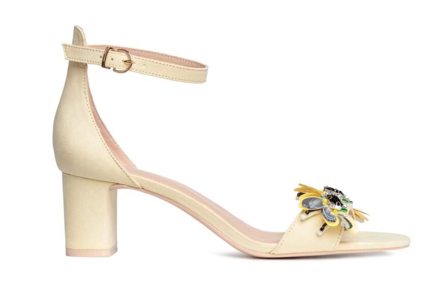 Accessoire tenue de mariage & cérémonie : sandales bijoux