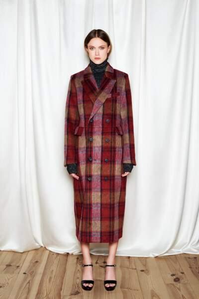 Manteau : tartan