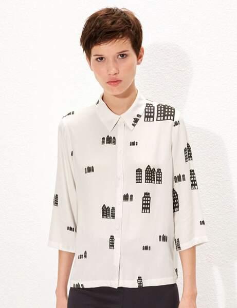 La chemise en crêpe