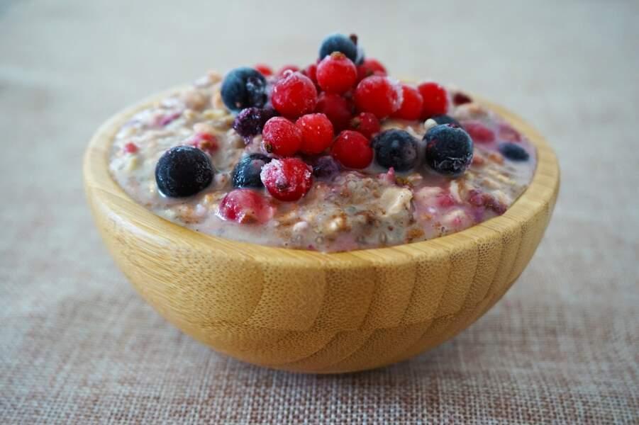Se préparer du porridge