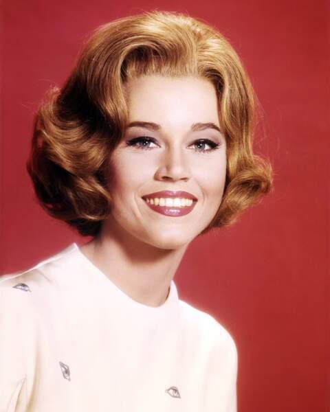 Le carré cranté de Jane Fonda
