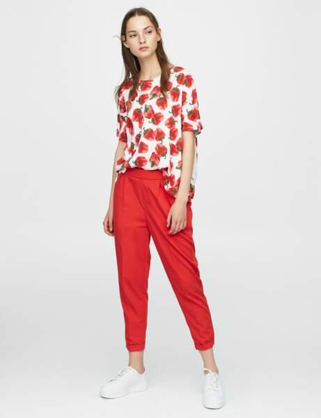 Pantalon de tailleur : coloré