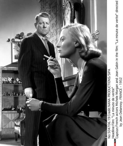 """Elle retrouve Gabin dans """"La Minute de vérité"""", une autre histoire d'amour malmené, en 1952"""