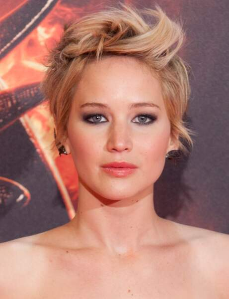 La coupe courte coiffée-décoiffée de Jennifer Lawrence