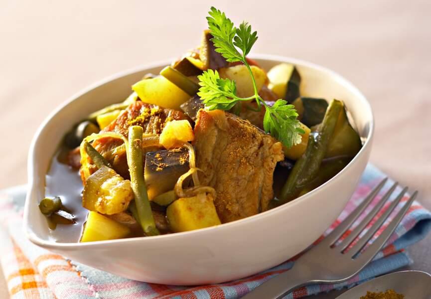 Curry d'agneau aux mille parfums