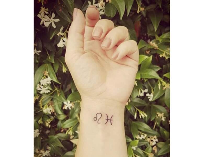 Deux petits tatouages discrets