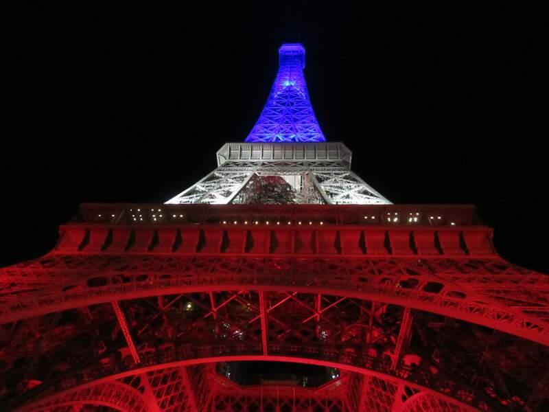 Eclairage Bleu Blanc Rouge