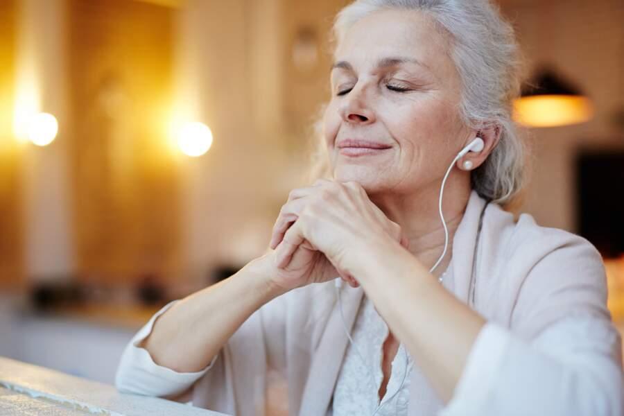 Écouter des sons relaxants