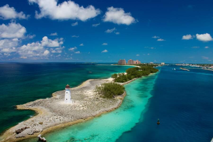 Phare du port à Nassau