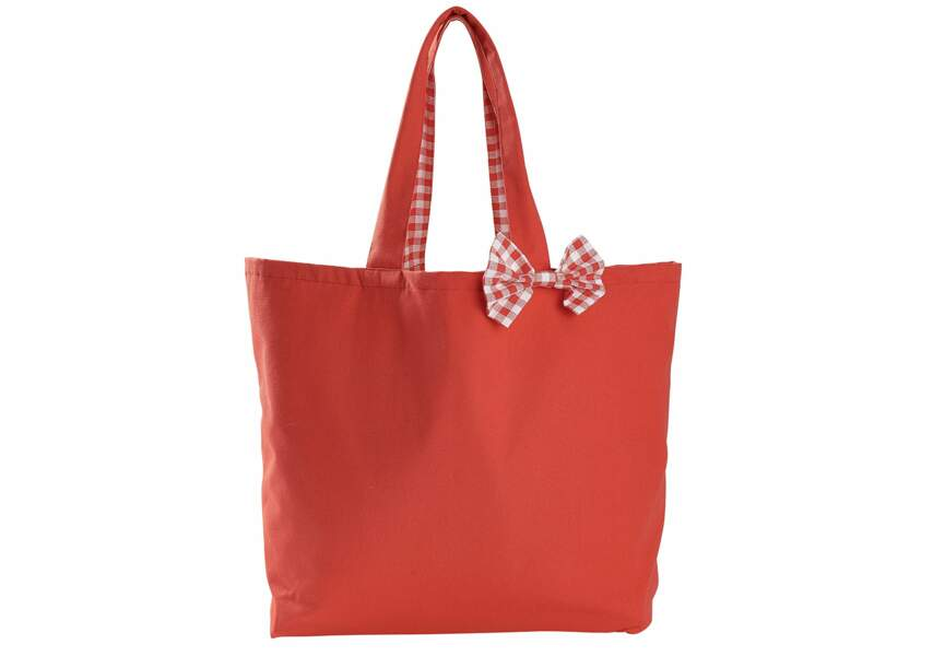 """Tex """"Made In France"""" : le sac rouge"""