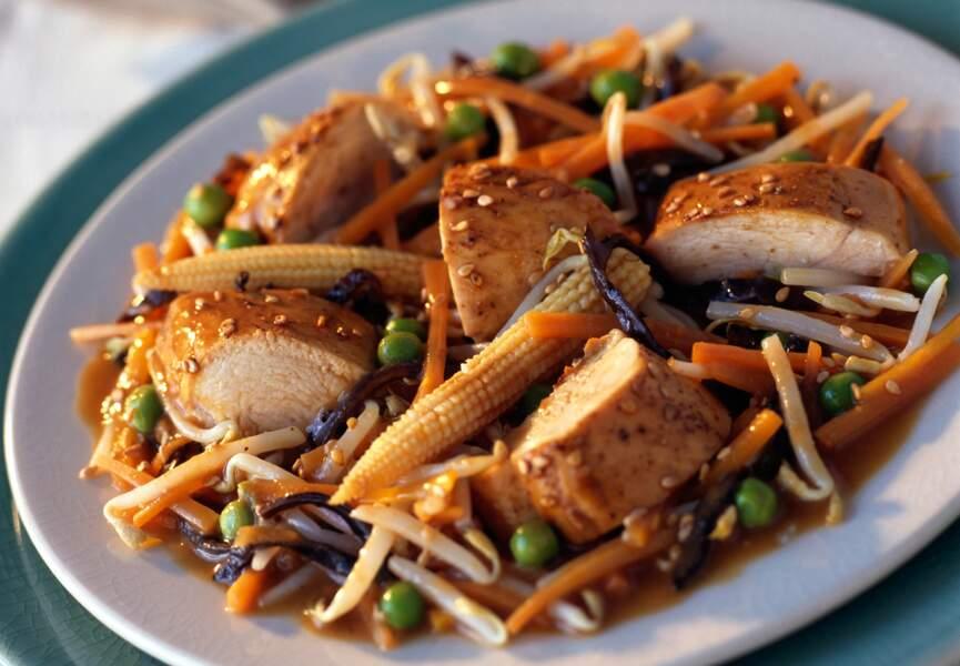 Filet de porc à la chinoise