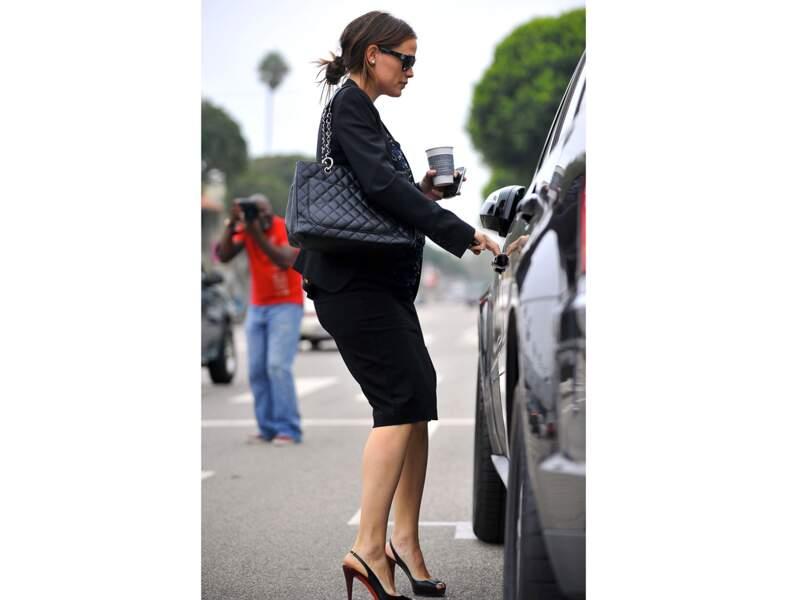 Jennifer Garner : le sac de working girl