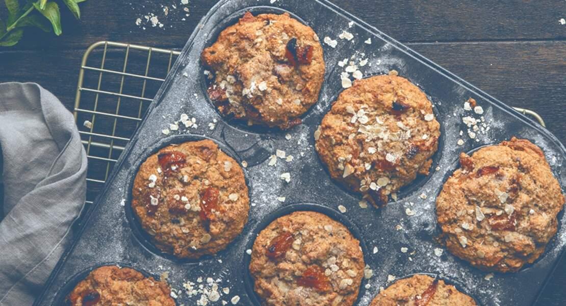 Muffins amandes et abricots