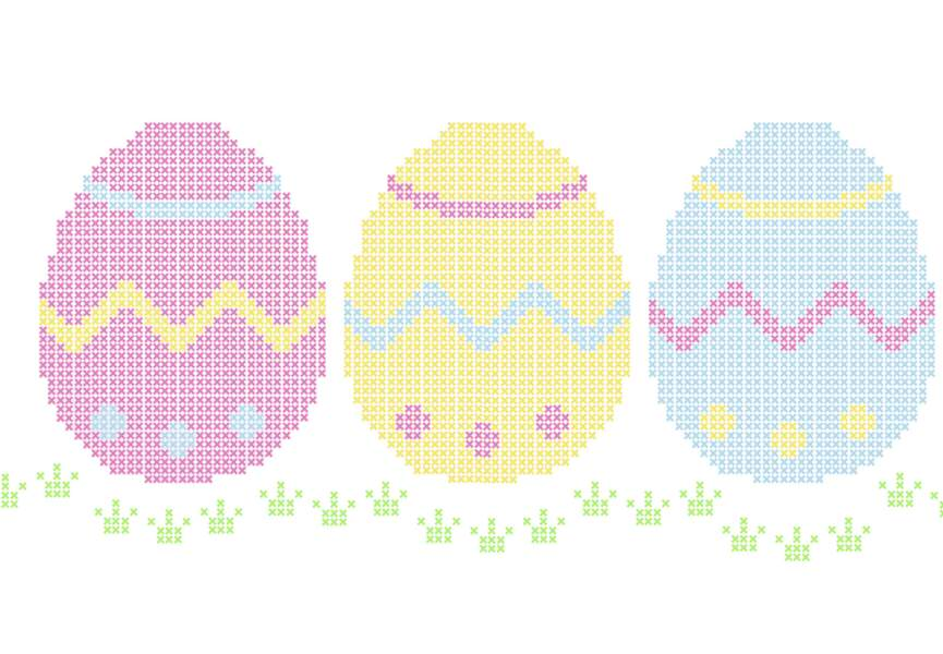 Broderie Pâques