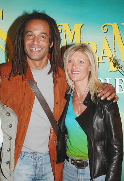 Yannick Noah et Isabelle Camus...