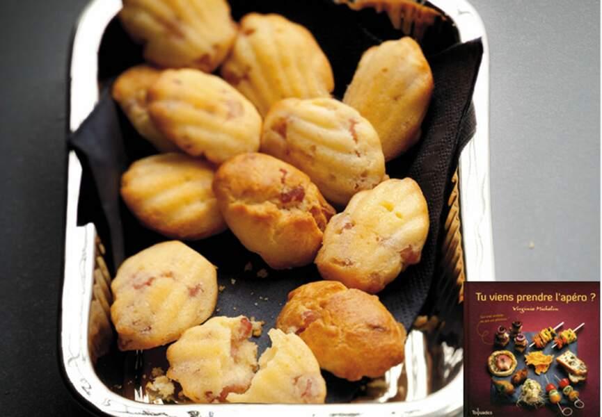 Mini madeleines aux lardons