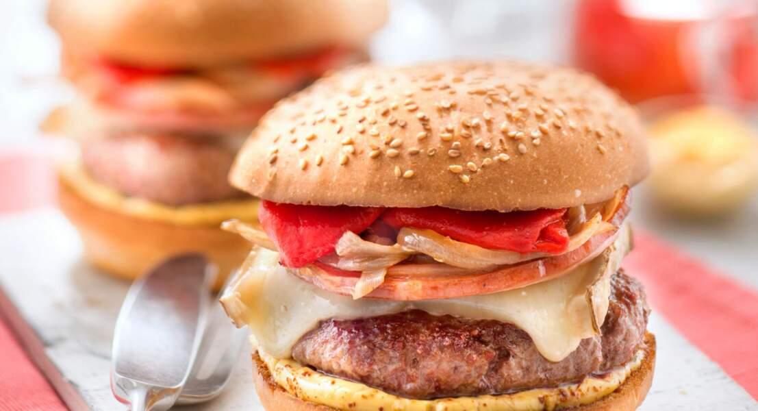 Burger à l'Ossau-iraty