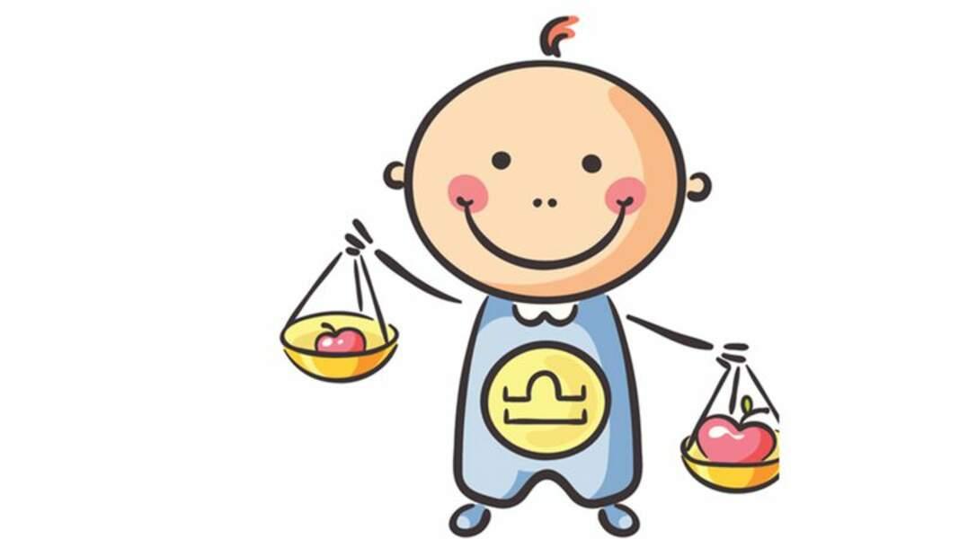 Horoscope du bébé Balance : son profil astro par Marc Angel
