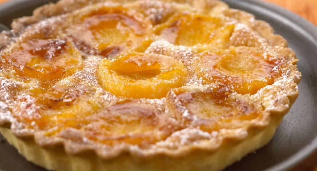Tarte coco et abricot