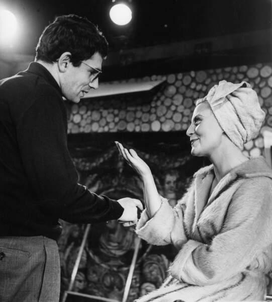 Robert Hossein l'a fait tourner dans plusieurs films dans les années 1950 et 1960
