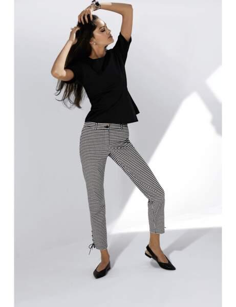Pantalon tendance : pantalon vichy