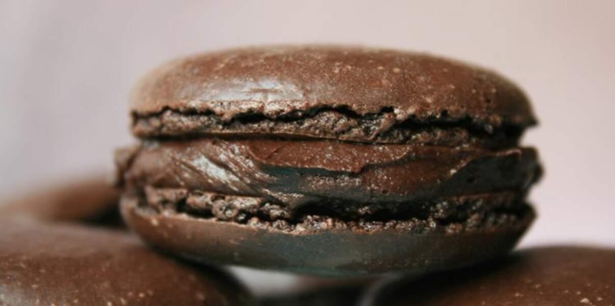 La recette du macaron au chocolat