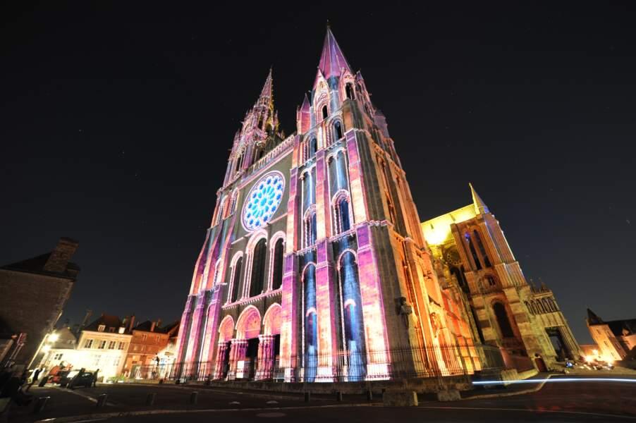 À Chartres, 24 édifices illuminés