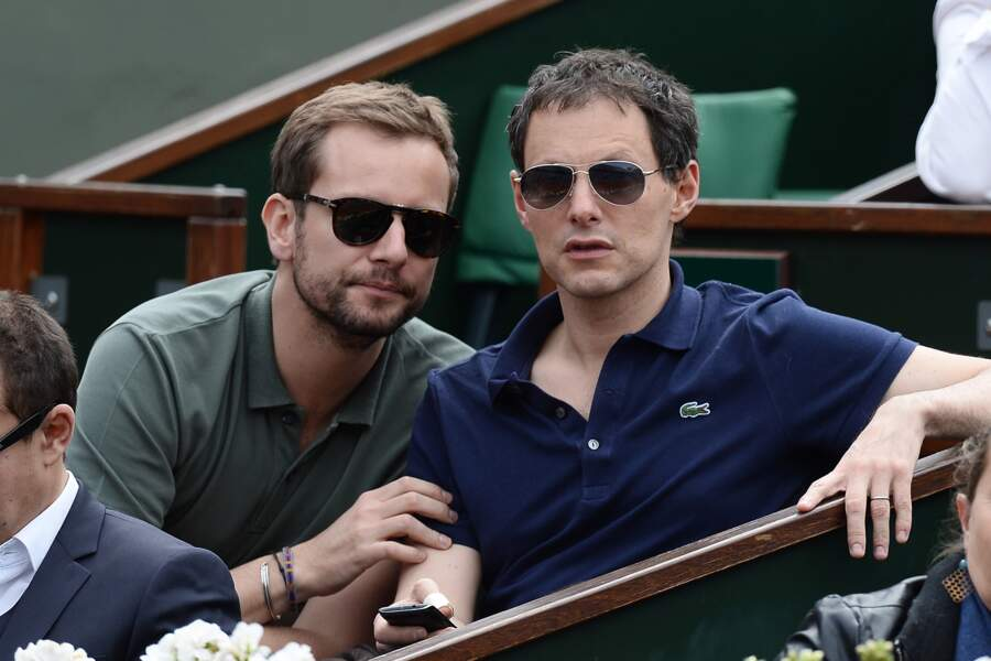 Marc-Olivier Fogiel et son mari François Roelants