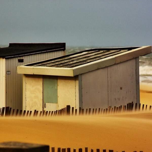 Tempête de sable à Calais