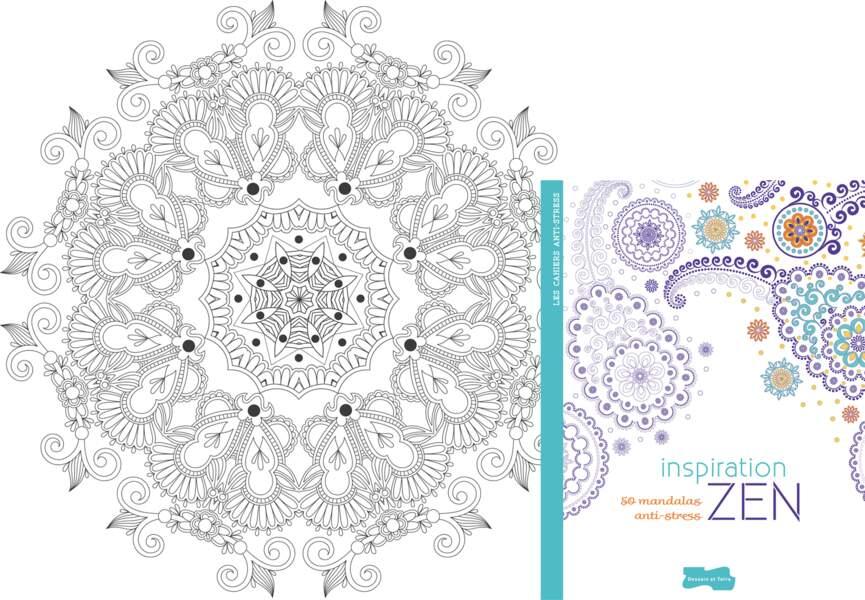 """Coloriage """"Inspiration Zen"""""""