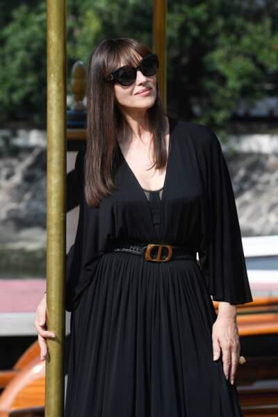 Mais Monica Bellucci n'est pas la seule à avoir ébloui les photographes de la Mostra de Venise.
