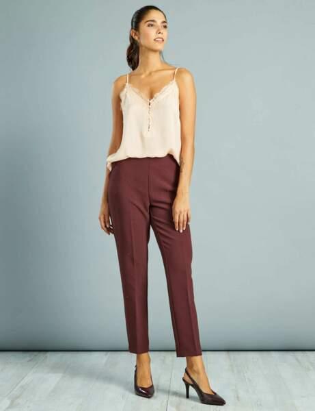 Pantalon de tailleur : soirée
